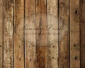 3.5ft x 3.5ft Vinyl Photography Backdrop /  Western Wood / Custom Photo Prop