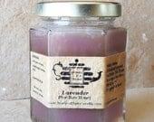 Honey Tea Organic Lavender infused!  8 oz, pure raw honey.