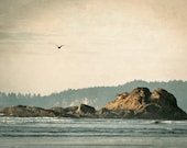 Washington Coast, Simplicity, Sea, Pacific Ocean, Waves, Matted for 16 x 20 frame, Photography