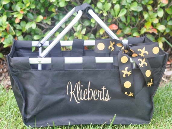 Personalized Market Tote Large with Monogram