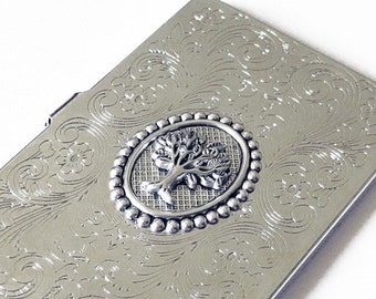 Men's Accessories Popular Gifts----Yggdrasill (the World Tree) Elegant  Business Card Case