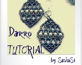 Darro Earrings Beading Tutorial DOWNLOAD - Step-by-Step Beading instructions - PDF