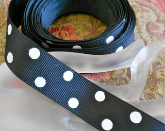 Black and White Polka Dot Trim