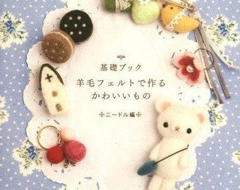 Wool Felt PDF Patterns, Kawaii Ebook, Free Shipping No.38