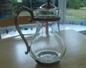 Price Reduced! Rock Island Railroad Water Carafe 1937 Owned by CEO