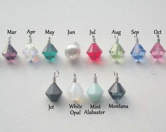 Add Birthstones to your Mommy Necklace