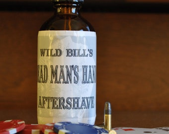 Wild Bill's Dead Man's Hand Cooling Aftershave for Razor Bumps