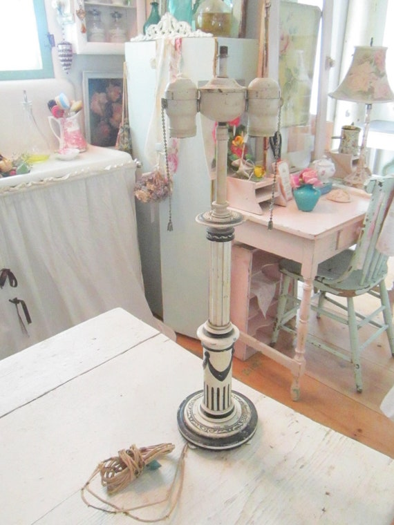 vintage french Lamp shabby chic