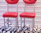 Marilyn Red Lips Chairs Pair - Studio 65, Dali, Marilyn, Surrealist, Contemporary Art, Modern Design