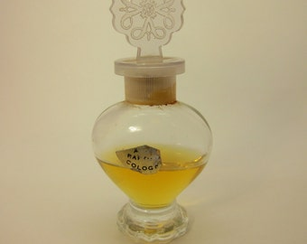 Vintage Avon Rapture Perfume Bottle Plastic Finial