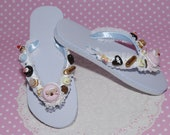 Marie Antoinette Yummy Flip Flops Delights - From Gitana's Yummies New Collection