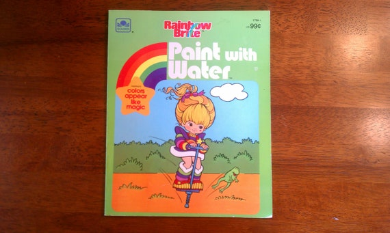 Rainbow Brite Paint with Water, 1985