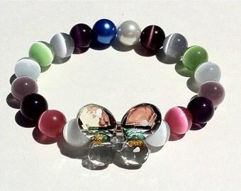 Mco Rainbow Butterfly Bracelet