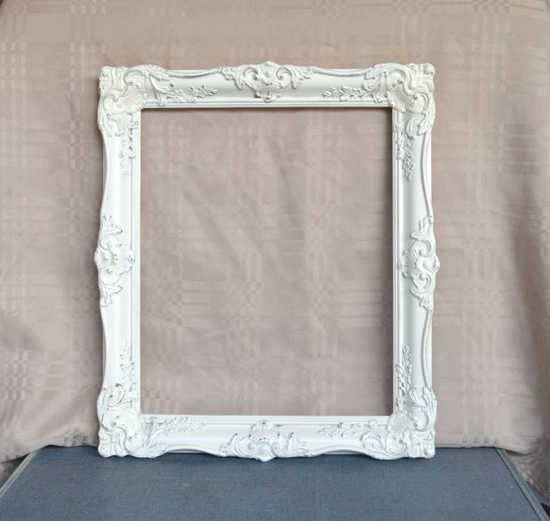 Large Ornate Heirloom White Frame Photography Prop by ...