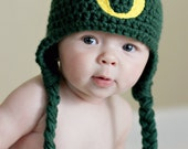 Crochet Oregon Duck Hat Newborn to 4T