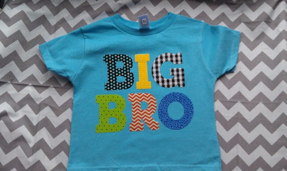 SALE- Big Brother shirt Ready to ship 4T Big brother shirts onesie sibling shirt birth announcement
