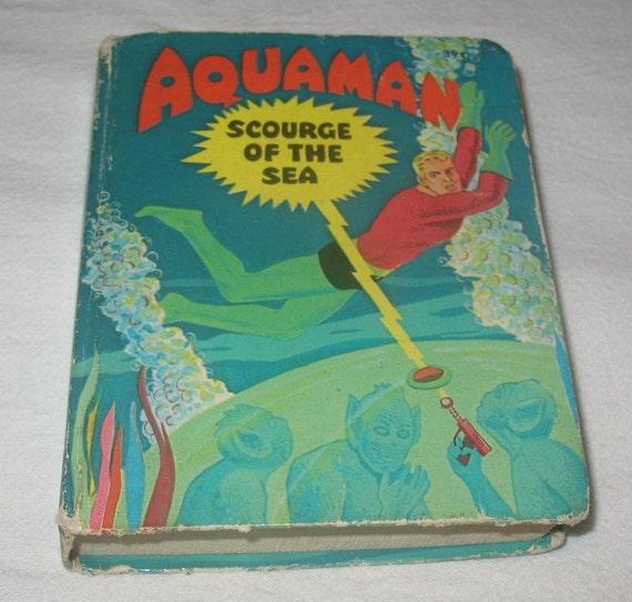 Whitman A Big Little Book Aquaman Scourge of the Sea 1968 Super Hero