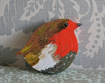 Plump Robin Christmas Decoration