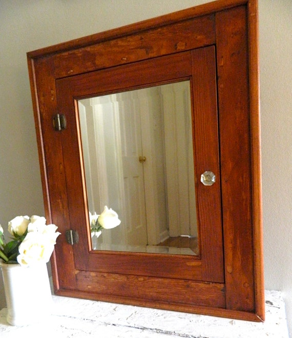 Framed bathroom vanity mirrors - Antique Medicine Cabinet With Mirror Cabinets