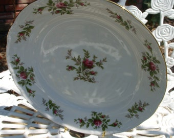 Set of 2 Very Pretty Traditions Fine China Plate Johann Haviland China Corp. in the Moss RosePattern