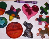 Recycled Crayons Christmas Grab Bag-- You Choose Age 2 and Up  or 3 and Up, In Stock, No Choices SALE