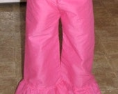 Ruffle bottom pants 6mo-10yrs.(you choose color)