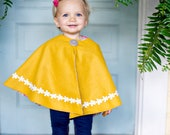 Reversible Girls Cape - Made to Order