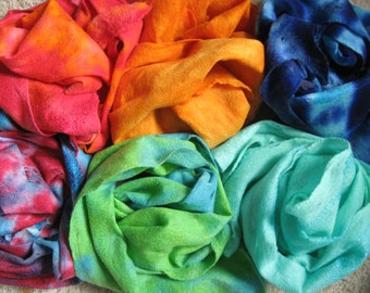 "Pick a color"" Felted scarf"