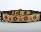 Turkey Thanksgiving Dog Collar