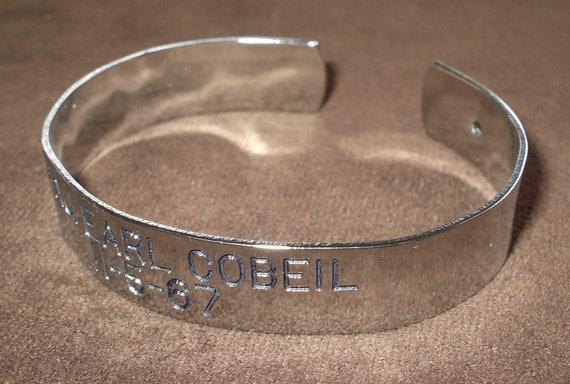 vintage 60s pow viet nam war bracelet