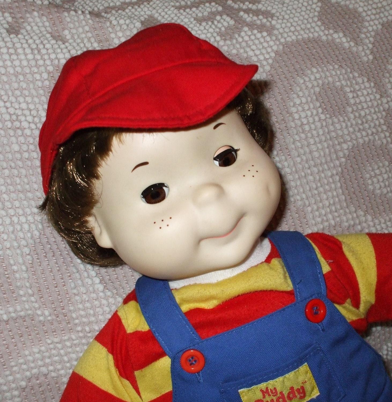 Vintage Playskool My Buddy Doll With Open Amp Close Eyes