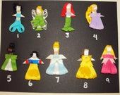 Disney Princess Inspired Hair Clips