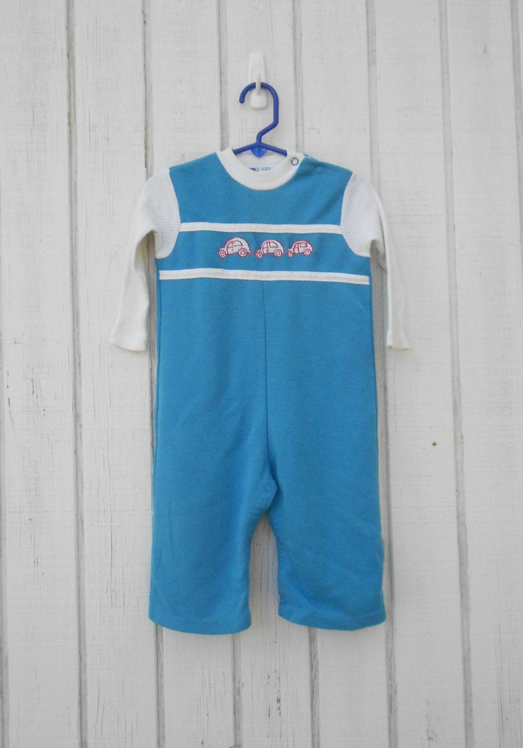 vintage baby clothes baby boy onesie cars toddler by