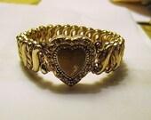 Vintage Carmen Sweet Heart Locket Bracelet