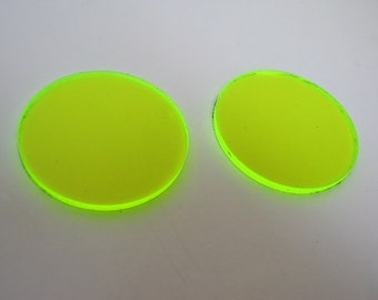 UV Green lens addition for goggles - see through