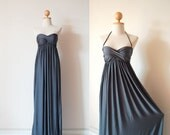 Wedding Dress Dark Grey