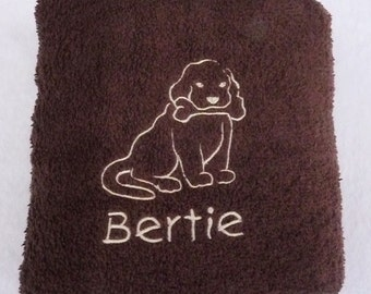 Personalised Pet Towel - Small