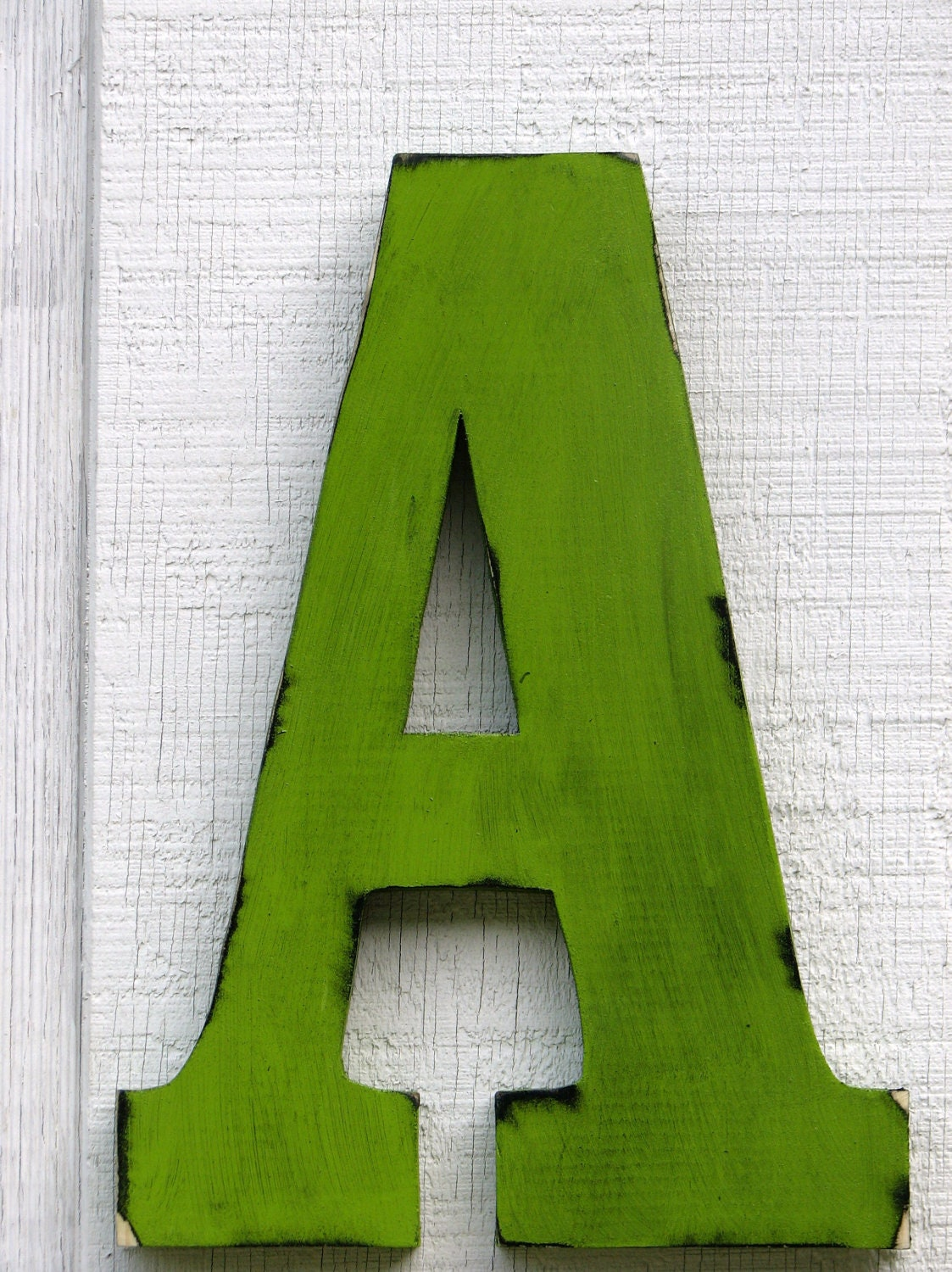 large wall letters 2 foot rustic wooden letter a distressed. Black Bedroom Furniture Sets. Home Design Ideas