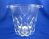 Crystal Ice Bucket, Vintage from Italy