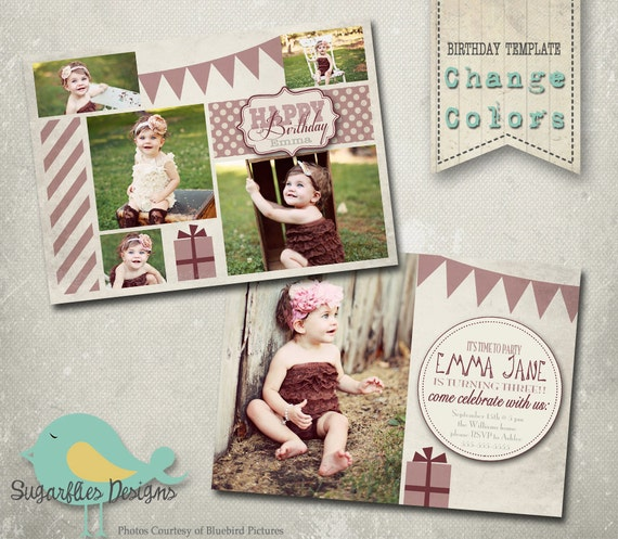 Birthday Invitation Templates - Birthday Girl Vanilla