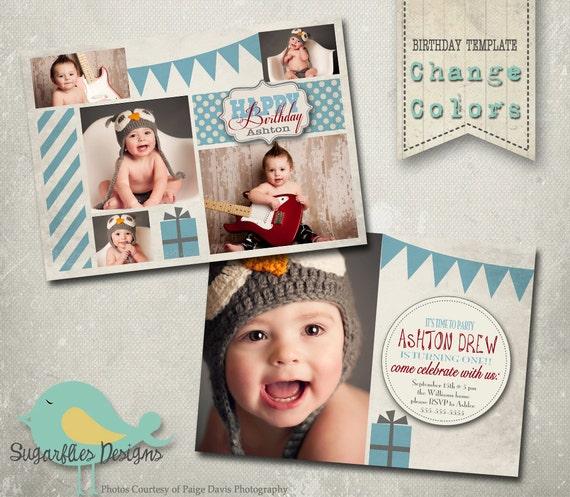 Birthday Invitation Templates - Birthday Boy Vanilla