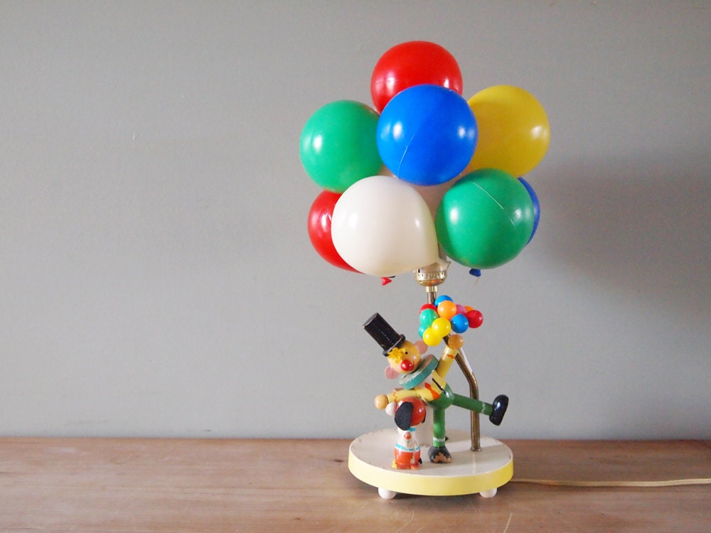 Children 39 S Circus Balloon Lamp Night Light