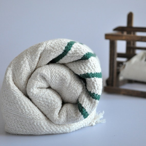 Bamboo Sauna Towels: Turkish Bath Towel Bamboo Pure Soft Peshtemal Royal Green