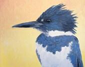Kingfisher Power Animal Greeting Card
