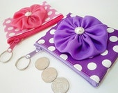 Very Sweet Coin Purse in Purple