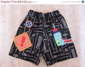 ON SALE Tool man pants shorts - Farbenmix design - size 4