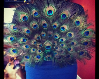 Adult Peacock Costume Peacock Tail Peacock Wings