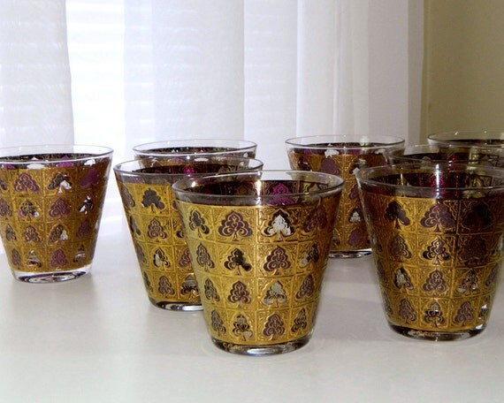 Culver Cocktail Glasses