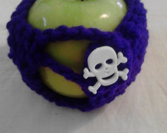 Dark Purple Apple Cozy