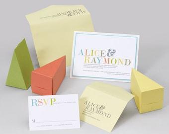 Wedding Invitation Suite - Colorful